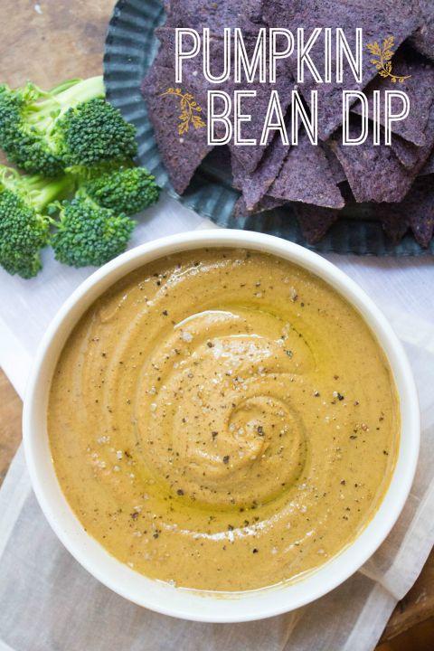 Pumpkin Bean Dip   Easy, Healthy Recipe