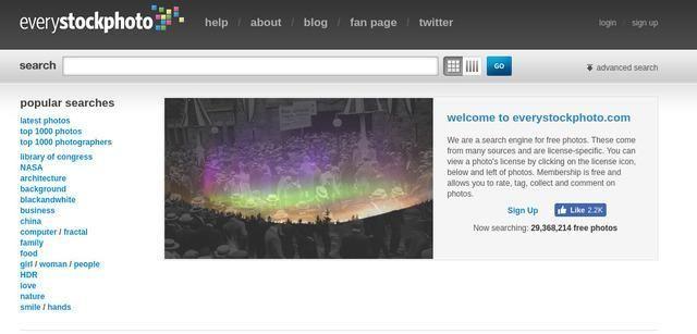 Every Stock Photo buscador de fotos gratis