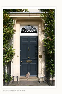 57 best images about front door on pinterest provence orange door and pink - Farrow ball exterior paint concept ...