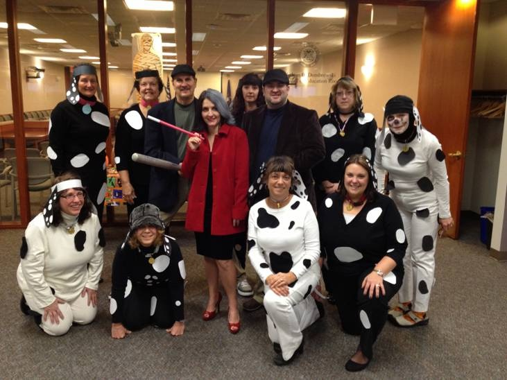 halloween ideas for the office. halloween 2012 office of great start staff rocking 101 dalmations ideas for the l