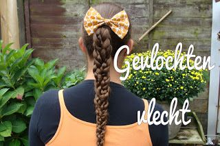 Miriam's Vlecht Lessen (Miriam's braiding instructions): Gevlochten vlecht // Braided braid