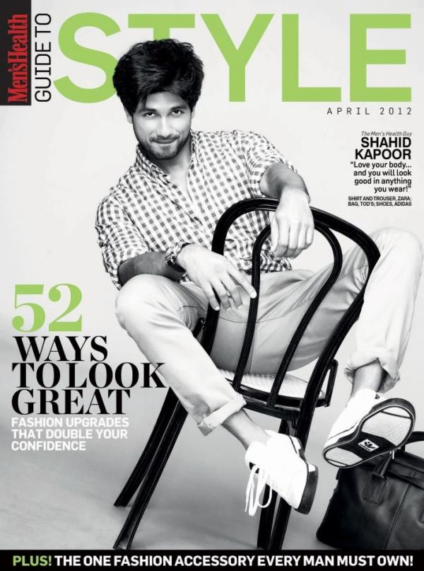 Shahid Kapoor for STYLE