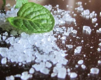 Lavender, Mint, Bath Salts, Bath Product, Natural, Organic, EssentialBath  Oils, Soothing Bath Salts, 8oz, 10 oz, Bath and Beauty