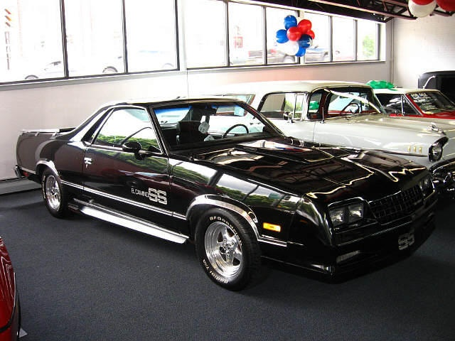 1985 chevrolet el camino ss for sale massachusetts chevy cadillac dealer classic chevy 39 s. Black Bedroom Furniture Sets. Home Design Ideas