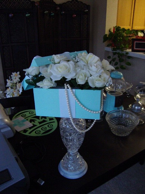 1000 Ideas About Tiffany Blue Centerpieces On Pinterest
