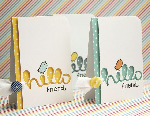 notecards2_yainea by Lawn Fawn Design Team, via Flickr