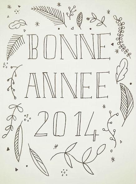 Carte de voeux 2014 - Little Leonie