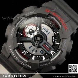 Buy Casio G-Shock Black Analog Digital Display Watch GA-110-1A, GA110- Buy Watches Online | nzwatches.com
