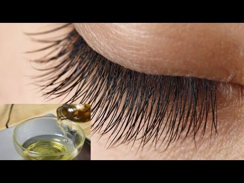 Grow Long, Thick & Strong Eyebrows & Eyelashes In Just 5 Days | DIY Eyelash & Eyebrows Growth Serum - YouTube