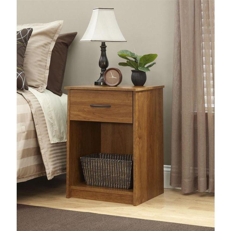 Ameriwood Home Core Bank Alder Nightstand