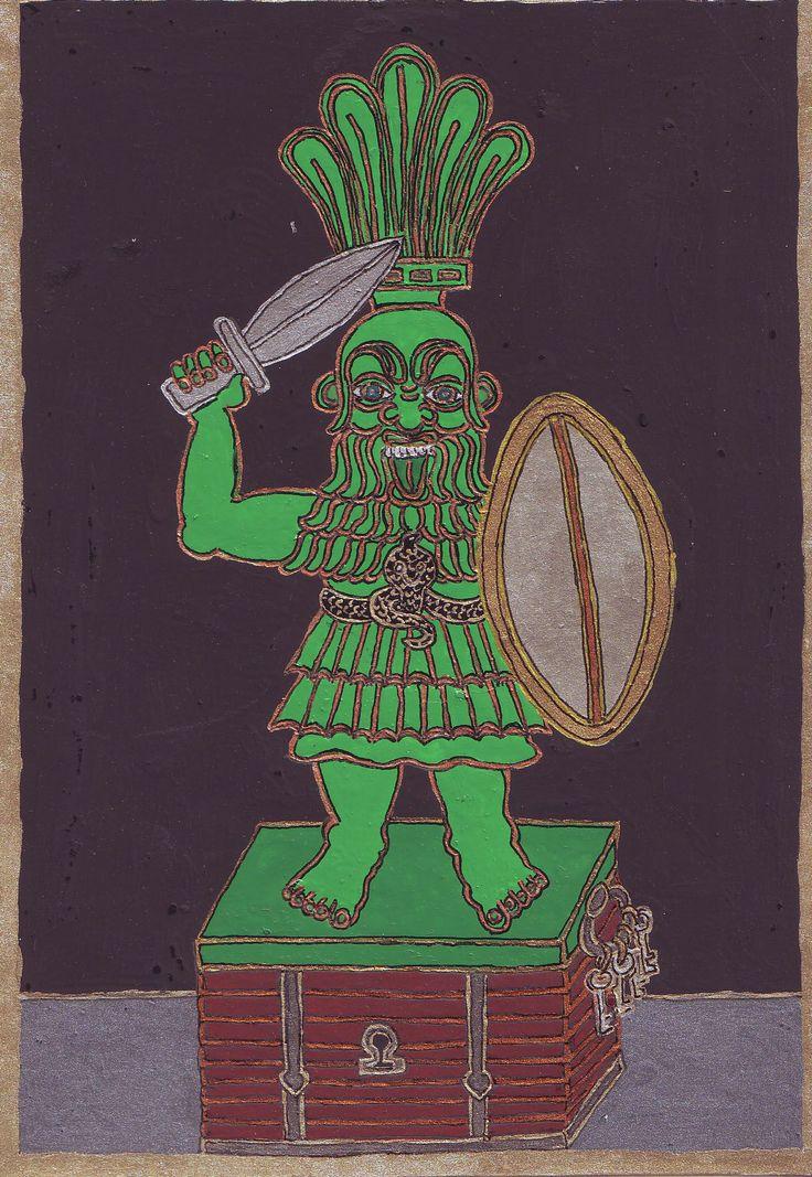 Bész. Torz testű törpe isten at egyiptomi mitológiában. Amulettként is használták, mert távol tartja a gonoszt.Egy 2006-os álmomban egy, álomnaplóimat trtalmzó láda felett őrködött.