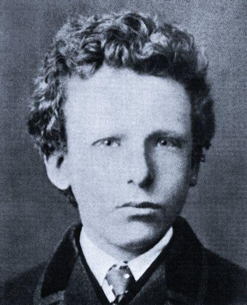 Vincent van Gogh  fue un pintor neerlandés, uno de los principales exponentes del postimpresionismo. Pintó 900 cuadros (de ellos 27 autorretratos y 148 acuarelas) y 1.600 dibujos. La figura central en su vida fue su hermano menor Theo, quien continua y desinteresadamente le prestó apoyo financiero.