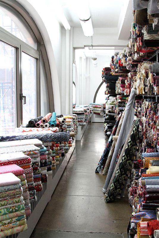 New York Fabric shop Thanks SarahJane Fabrics