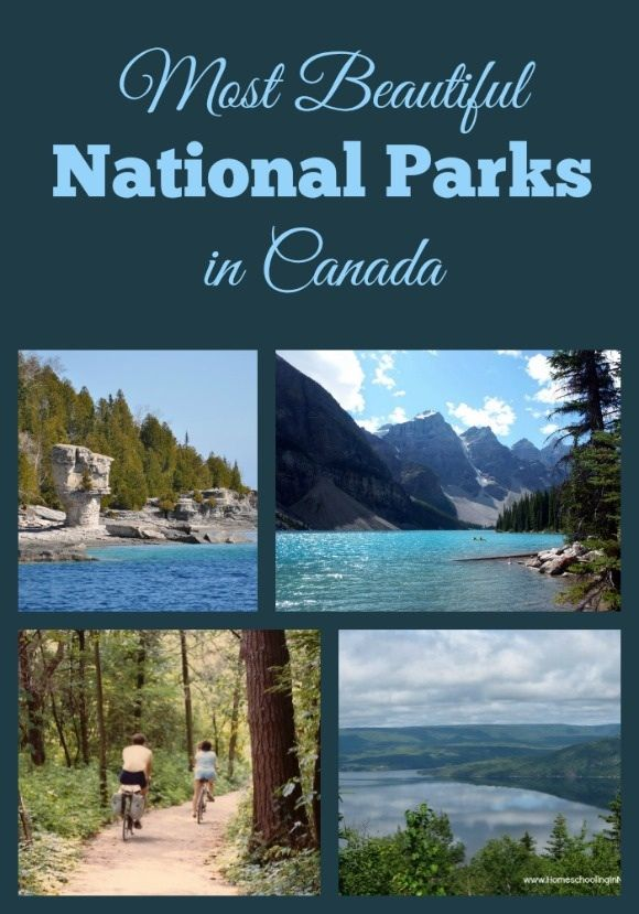 One of the most beautiful parks in Canada is Cape Breton's Highlands National Park! http://homeschoolinginnovascotia.com/family-world-best-national-parks-family-visit/