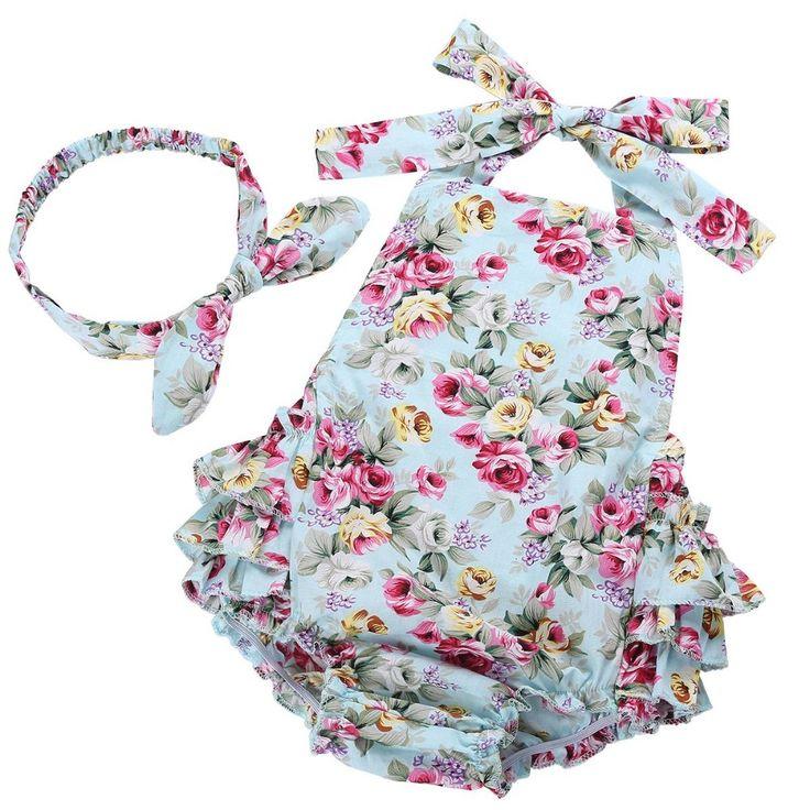 Лето девушка новорожденный одежда младенческой подтяжки ropa де bebe нина 2016 Детская Одежда Комбинезоны одежда костюм ребенка ползунки для новорожденного комбинезон #7E2037 купить на AliExpress