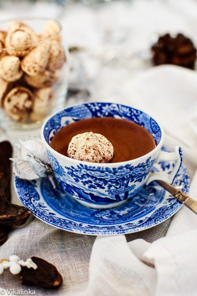 ... meringue hot chocolate chocolate recipe italian hot blue food meringue