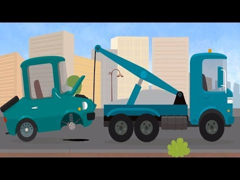 CAR DOCTOR! Kid's Cartoons - Truck Repairs & ROAD SAFETY Lesson with Doc McWheelie! - YouTube