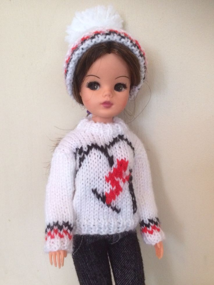 143 Best Sindy Knit Wear Images On Pinterest Arm Knitting Hand