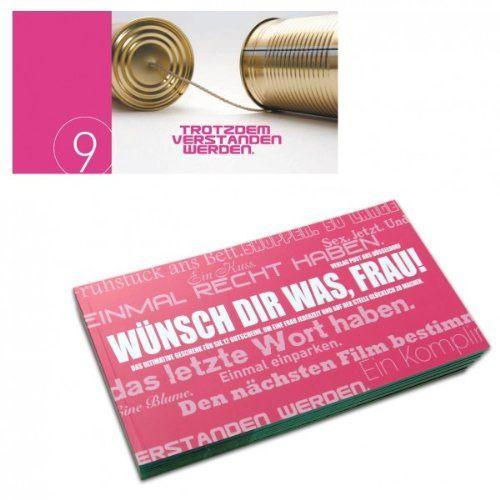 Gutscheinbuch Für Frauen   WÜNSCH DIR WAS. Geschenke Zum ValentinstagValentinstag  Mann ...