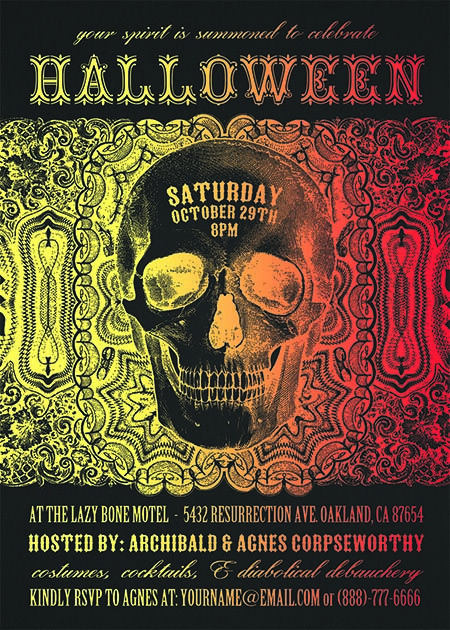 34 best Halloween Party Invitations images on Pinterest ...