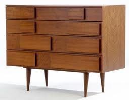 Four-drawer walnut dresser, Gio Ponti, Singer and Sons, c.1950