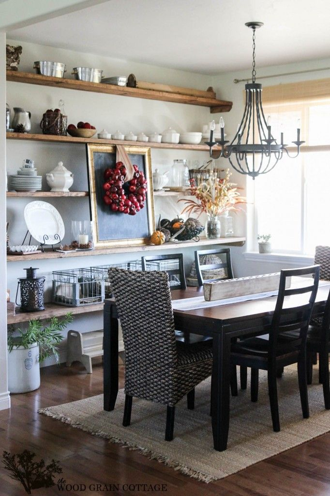 Fall Home Tour: Part Two - The Wood Grain Cottage