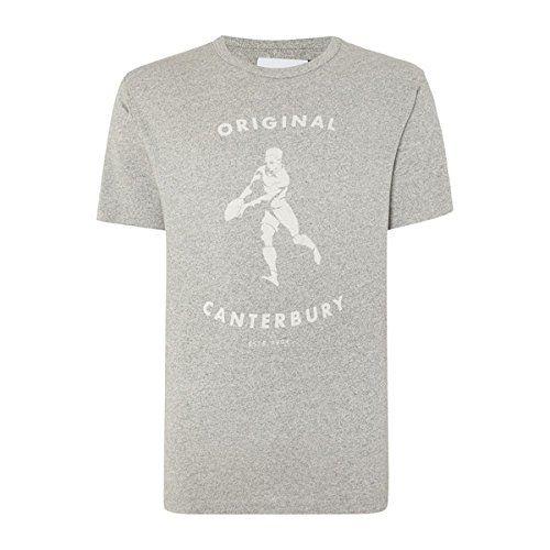 (カンタベリー) メンズ トップス Tシャツ Canterbury Crew Neck Regular Fit T-Shirt 並行輸入品  新品【取り寄せ商品のため、お届けまでに2週間前後かかります。】 表示サイズ表はすべて【参考サイズ】です。ご不明点はお問合せ下さい。 カラー:Grey Marl