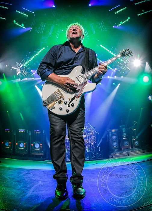 "Alex Lifeson...if you don't know who he is or what band he's played for almost 40 years now, then you need to ""get a life son!"""