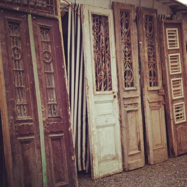 Pin by colleen king on architectural remnants salvage for Old wood doors salvaged