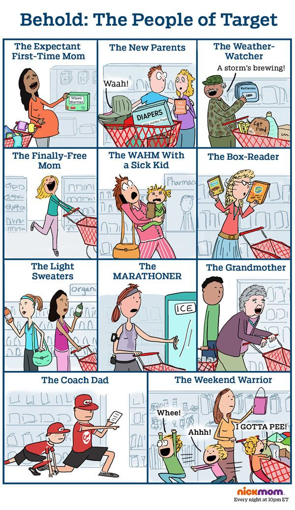 Behold: The People of Target | More LOLs & Funny Stuff for Moms | NickMom