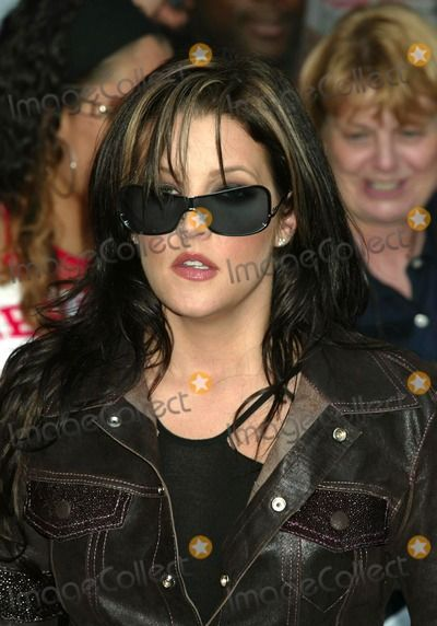 "Lisa Marie Presley After Appearance on ""Late Show with David Letterman ..."