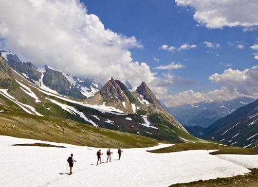 Ultimate Adventure Bucket List 2011 -- National Geographic Adventure. Trek the Mont Blanc Circuit, France, Italy, Switzerland.