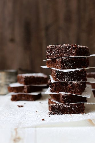 Beer Brownies - replace eggs and butter