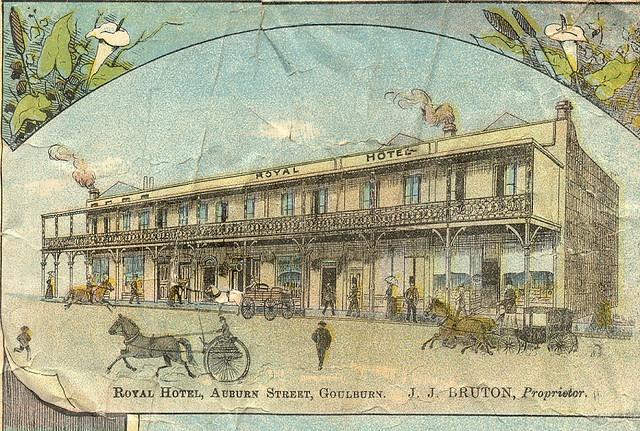Royal Hotel Goulburn 1890 Pinterest Photos Hotels And Royals