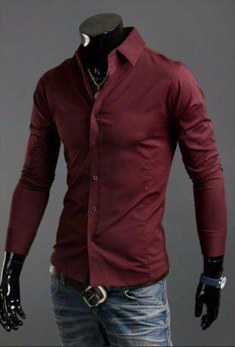 Resultado de imagen para camisa slim fit hombre  f2ce699510a