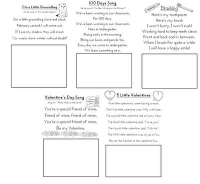 poetry journalAmy Krazy, Shared Reading, February Poetry, Kindergarten February, Kindergarten Poetry, Kindergartens, February Poems, Aloha Kindergarten, Poetry Journals
