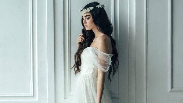 136 best Wedding Dresses images on Pinterest | Appliques, Riveting ...
