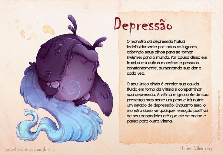 Se doenças mentais fossem monstros