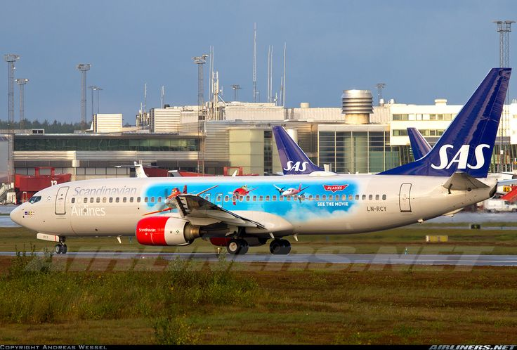 Scandinavian Airlines - SAS LN-RCY Boeing 737-883 aircraft picture