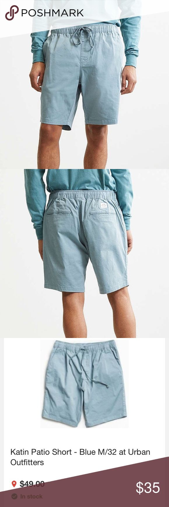 Urban Outfitters men's Katin patio shorts size 32 These urban outfitters shorts are new, with tags, and still sealed in the bag as pictured. Urban Outfitters Shorts Cargo