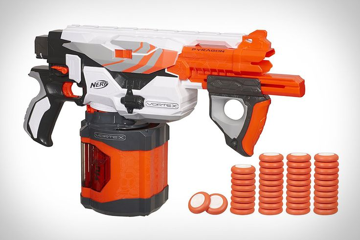 "NERF VORTEX PYRAGON BLASTER - So we can finally have those ""Zombie Drills"" that we've been taking about facilitating."