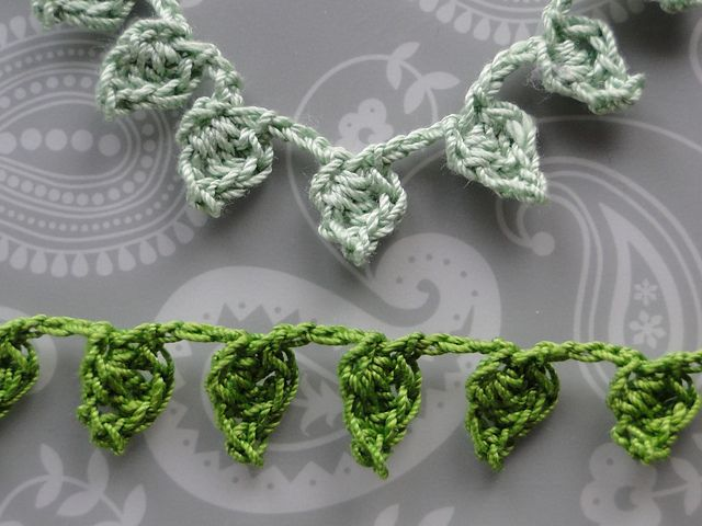 Free Crochet Patterns Flowers Leaves : 1000+ ideas about Crochet Leaves on Pinterest Crochet ...