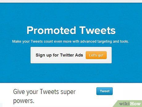 How to Use Promoted Tweets: 6 Steps (with Pictures) #how #to #use #promoted #tweets http://connecticut.nef2.com/how-to-use-promoted-tweets-6-steps-with-pictures-how-to-use-promoted-tweets/  # How to Use Promoted Tweets With over 500m users and counting, Twitter is becoming one of the most popular sites for social media marketing. But despite this huge audience, many marketers struggle to reach an engaged audience, and connect with their followers.Introduced in September 2011, promoted tweets…