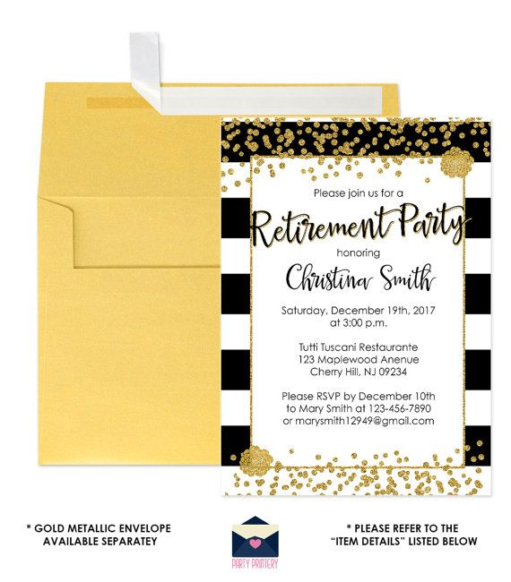 The 25+ best Retirement party invitations ideas on Pinterest - retirement party flyer template