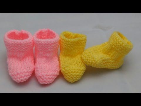 Knitting Patterns Baby Booties For Beginners : Best 25+ Knit baby booties ideas on Pinterest Knitted baby booties, Knitted...