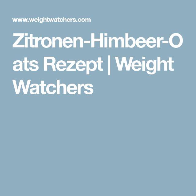 Zitronen-Himbeer-Oats Rezept | Weight Watchers