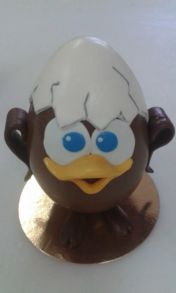 #Calimero #Pasqua creazione di http://www.simocakedesigner.it