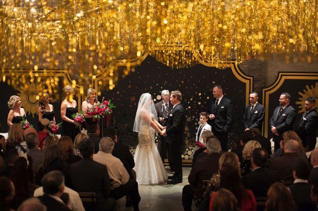MAGICAL NEW YEAR'S EVE WEDDING: CRYSTAL + JASON | NYE Wedding at Luce Loft in San Diego via Green Wedding Shoes