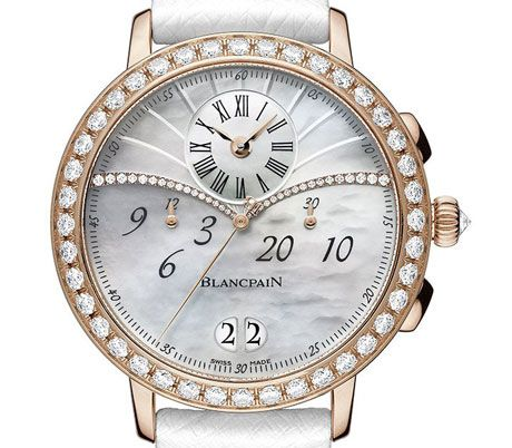 Blancpain Creates Chronograph Large Date Watch for Ladies Watches Channel