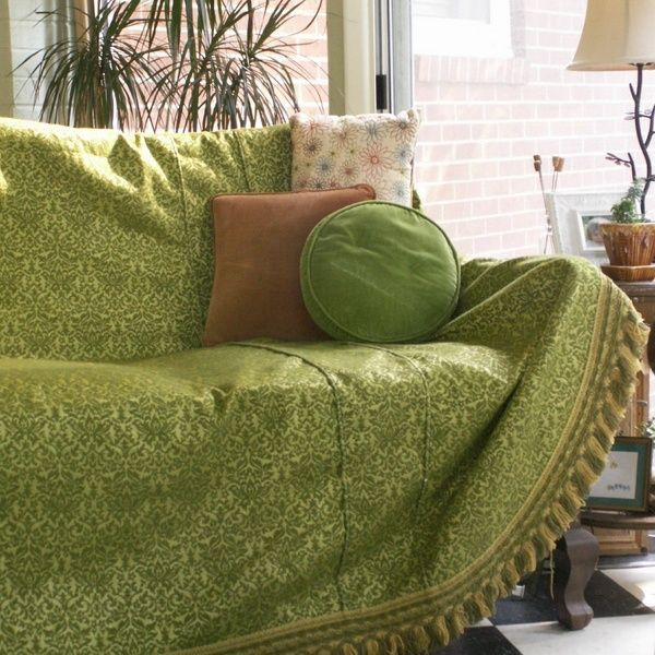 green sofa covers – Home Decor 88